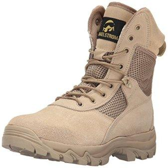 4276d4d676e Maelstrom Men's LANDSHIP 8 Inch Military Tactical Duty Work Boot ...
