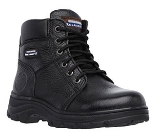 Skecher s Workshire Fit-on Women s Boot is a mixture of durability and  comfort. It may not have a lot of the necessary work boot features but if  you are ... decf3c84b