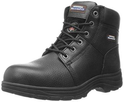 Skechers Vinton Gurden Comp Toe Work Boot