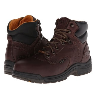 On top of the list of the best women work boots is Timberland s Pro Women s  TiTAN Waterproof Boot. This all-weather c0e2e9b891