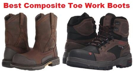 e05ab233e55 Top 10 Best Composite Toe Work Boots in 2019 - Ultimate Guide