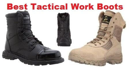 e706a1707f6 Top 10 Best Tactical Work Boots for Duty Work in 2019