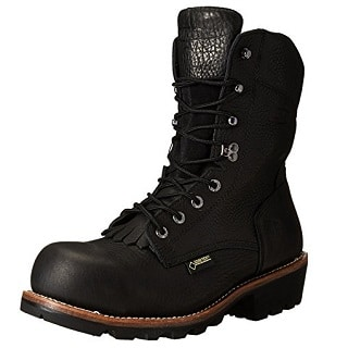 6e16042c59043b Wolverine Men's Buckeye Non-Insulated EAA Safety-Toe 8″ Logger Work Boot