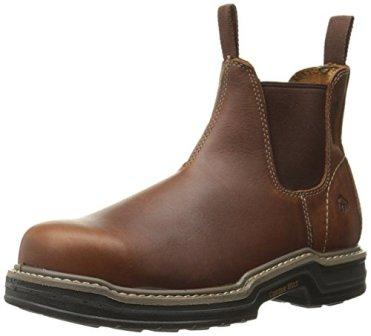 82bbf835de3 Wolverine Men s Raider Romeo Contour Welt Steel Toe Work Boot