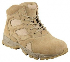 Rothco 5368 6-Inch Desert Tan Forced Entry Deployment Boot