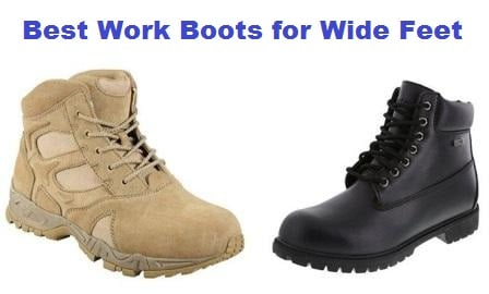 latest selection latest collection really cheap Top 10 Best Work Boots for Wide Feet in 2019 - Complete Guide