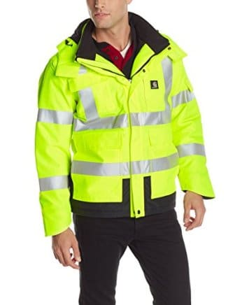 Carhartt Men S High Visibility Waterproof Class 3