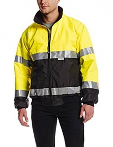 Charles River Apparel Men's Signal Hi-Vis Waterproof Jacket