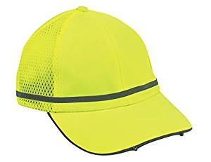 Ergodyne GloWear 8940 PowerCap, Lime-Blank