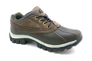 L&M – Men's Waterproof Rubber Sole Winter Snow Boots, 7014