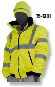Majestic 75-1301 High Visibility Waterproof Winter Bomber Jacket