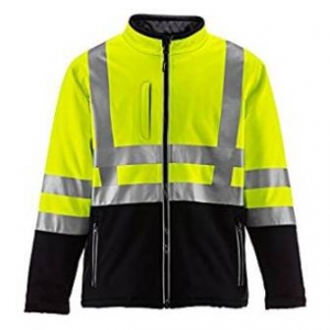 RefrigiWear Men's HiVis Insulated Softshell Jacket