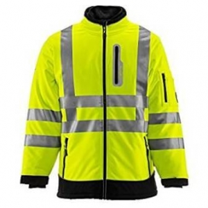 Refrigiwear Men's Hivis Extreme Softshell Jacket