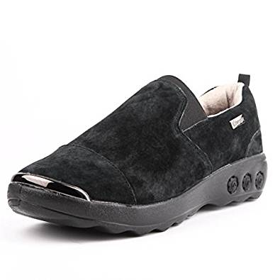 Therafit Samantha Women S Suede Slip On Casual Shoe