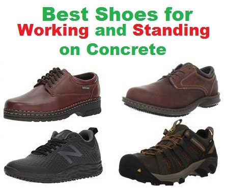 4f2b305bbbd Top 20 Best Shoes for working and Standing on Concrete in 2019