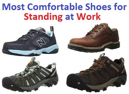 2131e2b19fc17a Top 30 Most Comfortable Shoes for Standing at Work