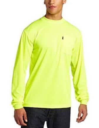 Key Apparel Enhanced Visibility Long Sleeve Men's Shirt
