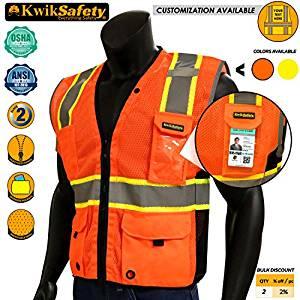 KwikSafety Renaissance Man High Visibility Long Sleeve Safety Shirt
