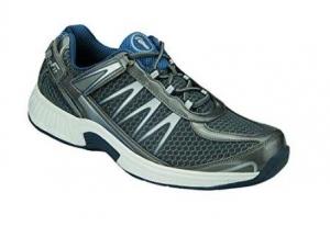 Orthofeet Sprint Comfort Orthopedic Plantar Fasciitis Diabetic Mens Sneakers Velcro
