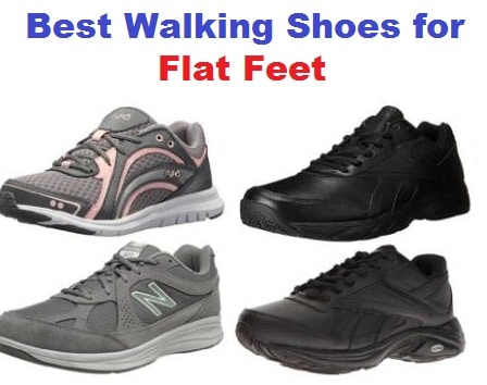 64d8cd5deb Top 20 Best Walking Shoes for Flat Feet in 2019