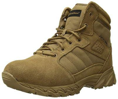 Men's Breach 2.0 Tactical Side Zip Boots from Smith & Wesson Footwear, 8″