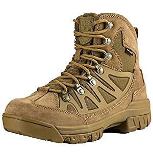 Men's Outdoor Military Tactical Ankle Boots Ultra Combat Mid Hiking Boot from FREE SOLDIER