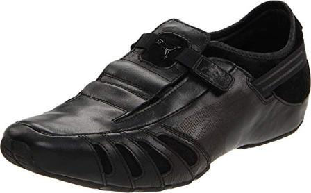 PUMA Men's Vedano Leather Slip-On Shoe
