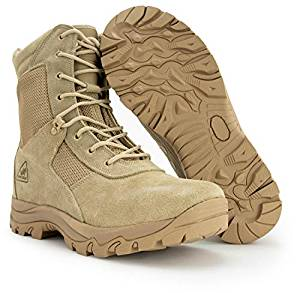 Tactical Combat Boots Coolmax Lining, Beige from Ryno Gear