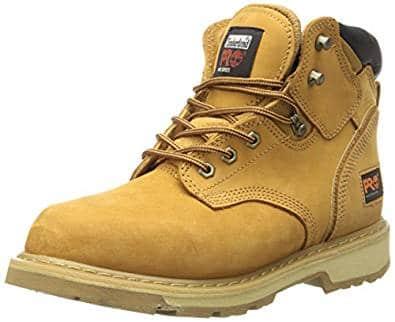 Timberland PRO Men's Pitboss 6″ Soft-Toe Boot