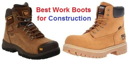 d0373d0ff03 Top 15 Best Work Boots for Construction in 2019