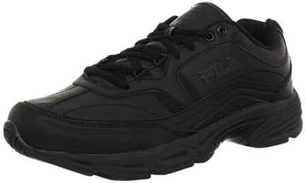 Men's Memory Workshift Slip Resistant Work Shoe from Fila