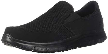 Men's Flex Advantage Slip Resistant Mcallen Slip-on for Work from Skechers