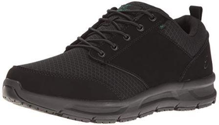 Men's Quarter Mesh Slip-Resistant Work Shoe
