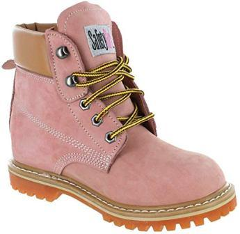 Safety Girl Ii Sheepskin Lined Womens Work Boots Tan