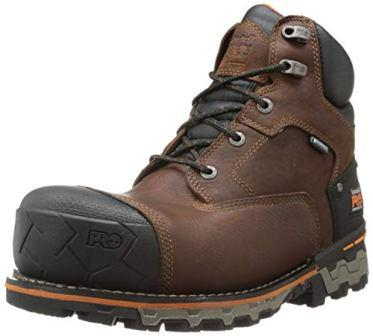 Timberland PRO Men's 6 Inch Boondock Comp Toe WP Insulated Industrial Work Boot