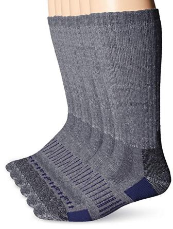 f7b055e9f ... CARHARTT MEN'S 6 PACK ALL SEASON- ALL TERRAIN CREW SOCK