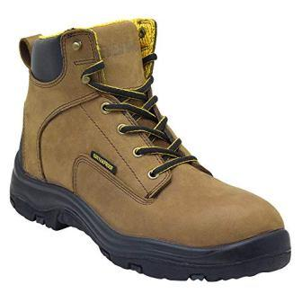 a7369910b0ed ... of EVER BOOTS Ultra Dry Men s Premium Leather Waterproof Work Boots  Insulated Rubber Outsole