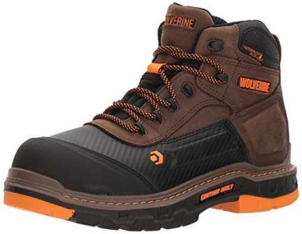 Wolverine Men's Overpass 6″ Composite Toe Waterproof Work Boot
