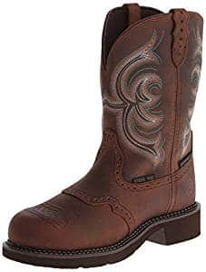 01c4009dd68 Justin Women's Gypsy Waterproof Work Boot Round Steel Toe Review ...