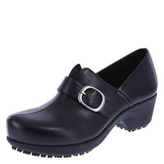 SafeTstep Slip Resistant Women's Buckle Gretchen Clog