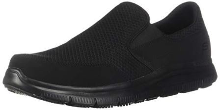 Skechers for Work Men's Flex Advantage Slip Resistant Mcallen Slip-On