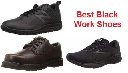 Top 15 Best Black Work Shoes in 2019