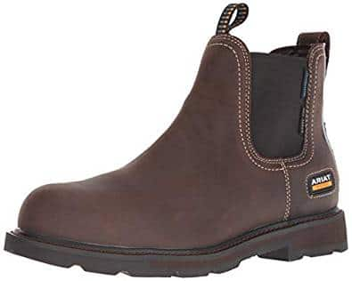 ARIAT Men's Groundbreaker Chelsea Waterproof Steel Toe Work Boot