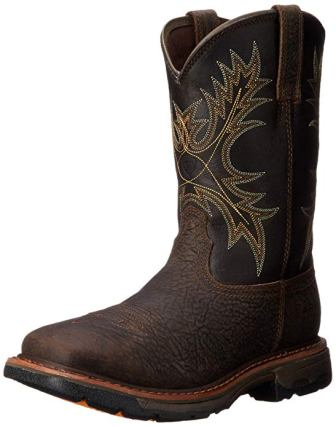 Ariat Men's Workhog Wide Square-Toe H2O Work Boot
