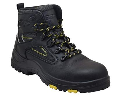 """EVER BOOTS """"Protector"""" Men's Steel Toe Industrial Work Boots Safety Shoes"""