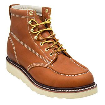 EVER BOOTS Weldor Men's Moc Toe Construction