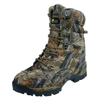 Northside Men's Crossite Waterproof and Insulated Camo Hunting Boot