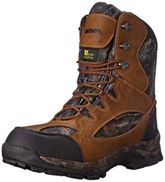 Northside Men's Renegade Waterproof and Ultra Insulated Leather Hunting Boot Camo