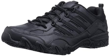 Skechers for Work Women's 76492 Compulsions Chant Lace-Up Work Shoe