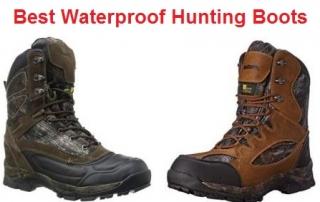 Top 15 Best Waterproof Hunting Boots in 2019